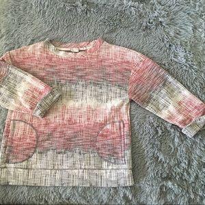 ANTHROPOLOGIE postmark pullover sweater